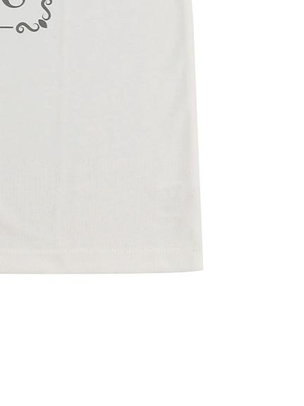 OTONA SDGs Message Tシャツ 100%再生ペットボトル アリ blanc