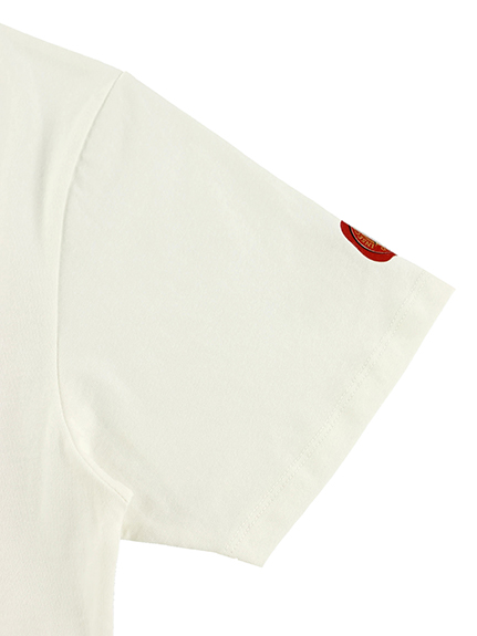 【予約商品】大人も!インセクトランド学習帳付きクワガタのラファエルTシャツTシャツ ホワイト オーガニックコットン使用【7月下旬発送予定】
