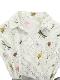 【受注商品】OTONA Encyclopedie ウエストベルトワンピースドレス blanche 【2月中発送予定】
