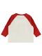インセクトコレクション限定 Disneyデザイン ラグラン長袖Tシャツ<Minnie&Ladybug> レッド オーガニックコットン使用