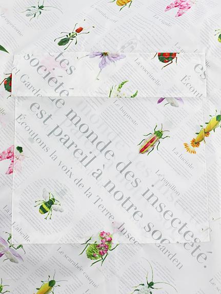 Encyclopedie ベビーカーカバー blanc