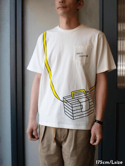 大人も!太陽に当たると昆虫ゲット!?虫かごTシャツ 全3タイプ オーガニックコットン