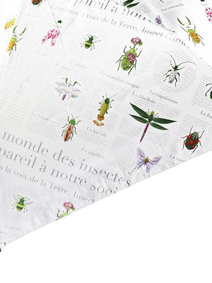 OTONA Encyclopedie 日傘(晴雨兼用) blanc