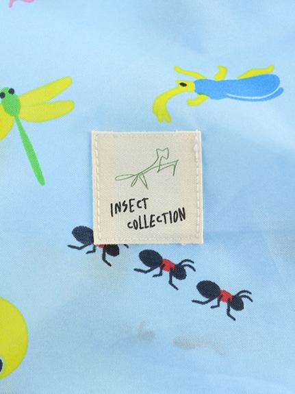 【予約商品】昆虫大集合ランドセルカバー スカイブルー【2月下旬発送予定】
