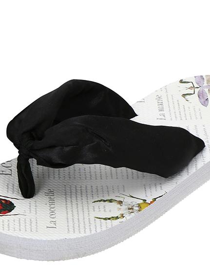 OTONA Encyclopedie ビーチサンダル blanches