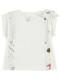 KODOMO 再生ペットボトル100% EncyclopedieサスペンダーライクTシャツ blanc