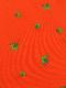 大人も!総柄かまきりくんポロシャツ オレンジ