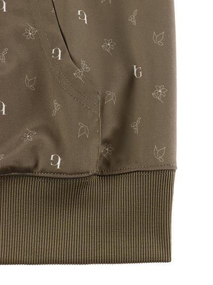 OTONA Monogramme 再生素材ジャージジャケット メンズサイズ beige