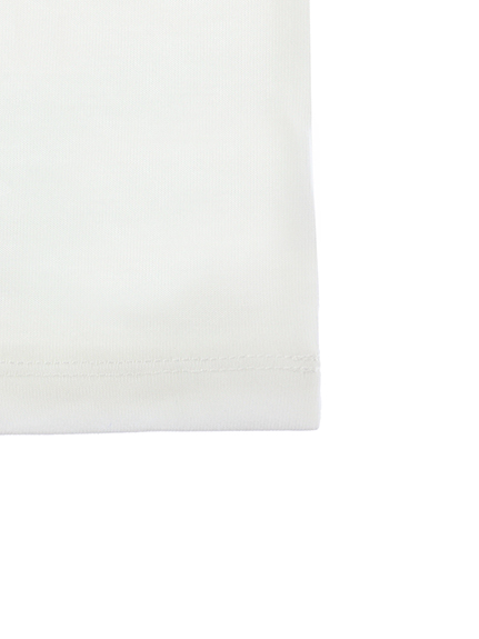 KODOMO SDGs Message Tシャツ 100%再生ペットボトル トンボ blanc