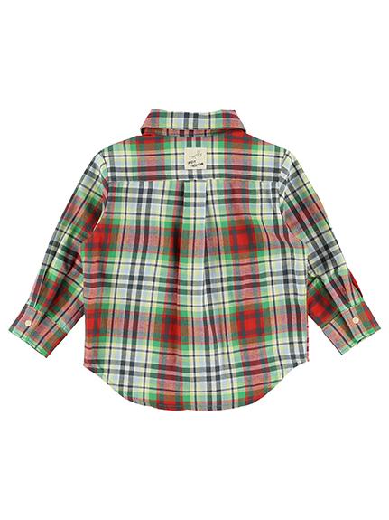 インセクトタータン・ビッグワッペンシャツ チェック