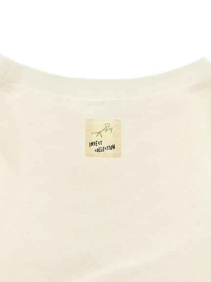 No Insects, No Life. Tシャツ ホワイト 大人用