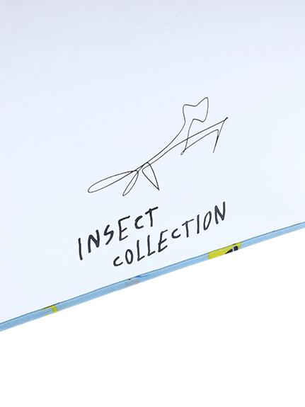 昆虫大集合アンブレラ スカイブルー