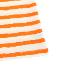 大人も!さがら刺繍かまきりくんボーダー長袖Tシャツ オレンジ オーガニックコットン使用