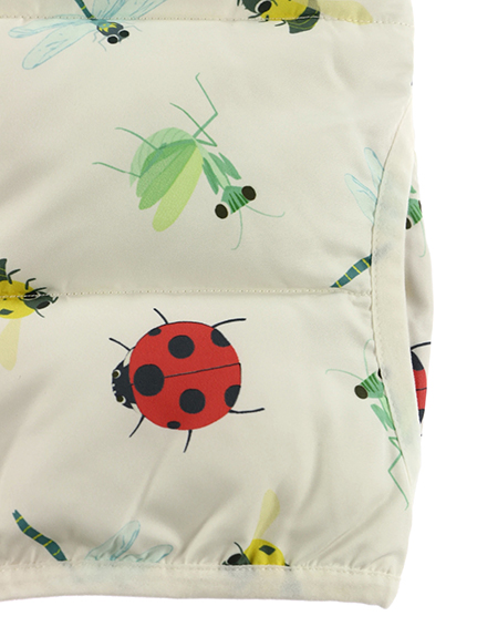 昆虫集合中綿ベスト