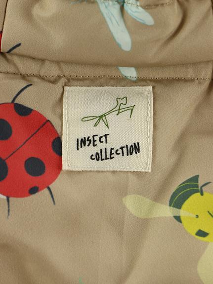 フードが外せる!昆虫集合中綿ジャケット
