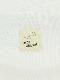 大人も!カマキリサイン ロープ刺繍長袖Tシャツ アイボリー オーガニックコットン使用