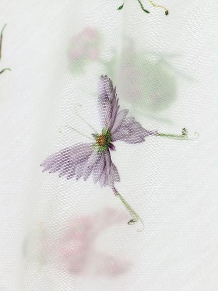 KODOMO Insecteワンピースパフスリーブ rose