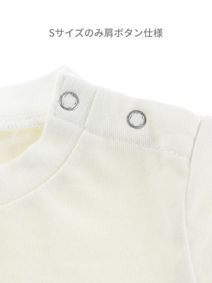 インセクトランド学習帳付きモンシロチョウのエデンTシャツ ホワイト オーガニックコットン使用