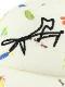 【予約商品】にぎやか昆虫ツイルキャップ カマキリサインロープ刺繍 【7月中旬発送予定】