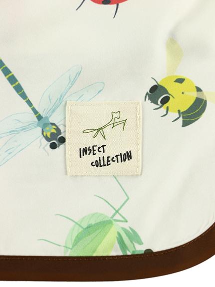 【予約商品】食べ散らかしOK!昆虫にぎやかお食事スモック 【7月上旬発送予定】