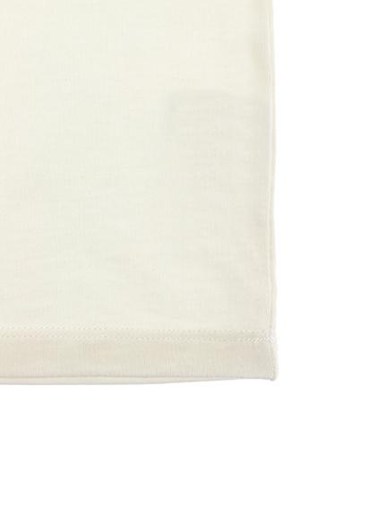 ほたるさんプリントTシャツ ホワイト キッズ オーガニックコットン使用
