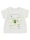 KODOMO SDGs Message Tシャツ 100%再生ペットボトル ハチ blanc