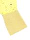 【大人も!かぶとむしくんリラックスパンツ】速乾・アイロン要らずな総刺繍ストライプ レモン