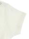 ありさんキャンディーアップリケ刺繍Tシャツ ホワイト オーガニックコットン使用