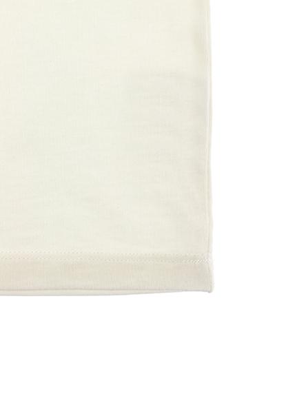 てんとうむしちゃんプリントTシャツ ホワイト キッズ オーガニックコットン使用