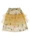 KODOMO Encyclopedieチュールスカート jaune