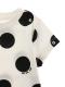 アリドットTシャツ ホワイト キッズ オーガニックコットン使用