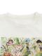 インセクトランド学習帳付きINSECT LANDの仲間たちTシャツ ホワイト オーガニックコットン使用