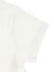 せみさんプリントTシャツ ホワイト オーガニックコットン使用