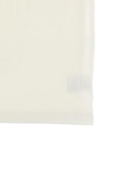 大人も!インセクトランド学習帳付きハナカマキリのシャルロットTシャツ ホワイト オーガニックコットン使用