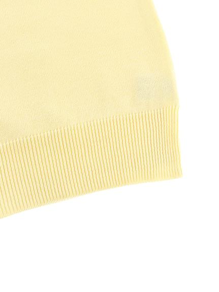 【旧サイズのためアウトレット30%OFF】大人も毛玉になりにくい!さがら刺繍ありさんニット オフホワイト