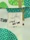 【予約商品】フォレスト柄ミドル丈ウインドブレーカー グラスグリーン【12月中旬発送予定】