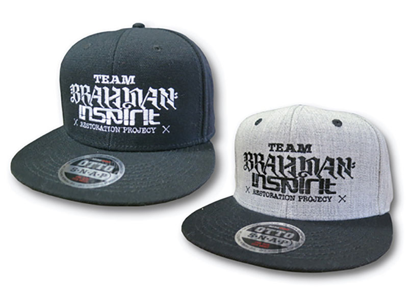 inspirit × BRAHMAN プロジェクトBBキャップ/黒