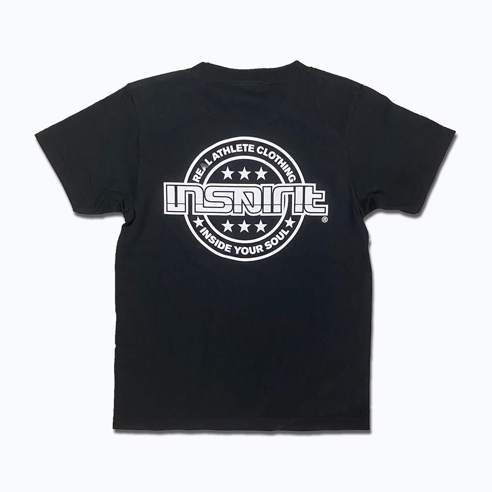 キッズMainLogo Tシャツ/黒