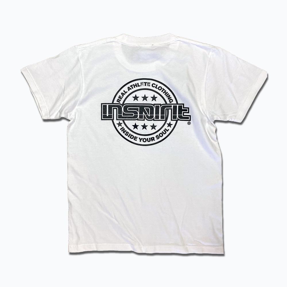 キッズMainLogo Tシャツ/白