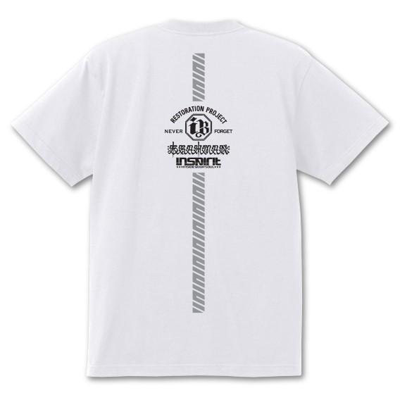 2020プロジェクトDRY Tシャツ/白