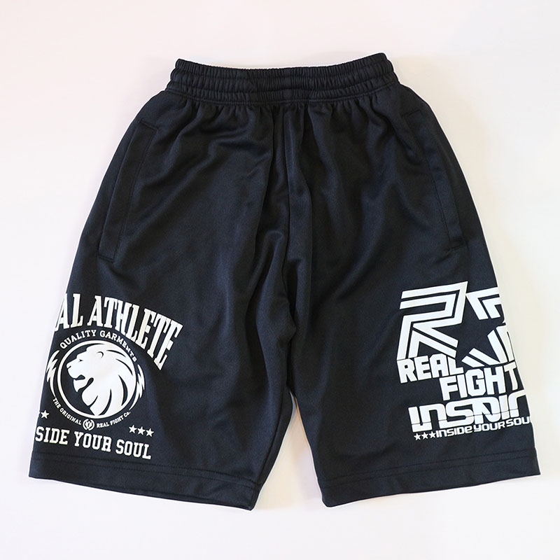 メッシュパンツ LION キッズ/黒