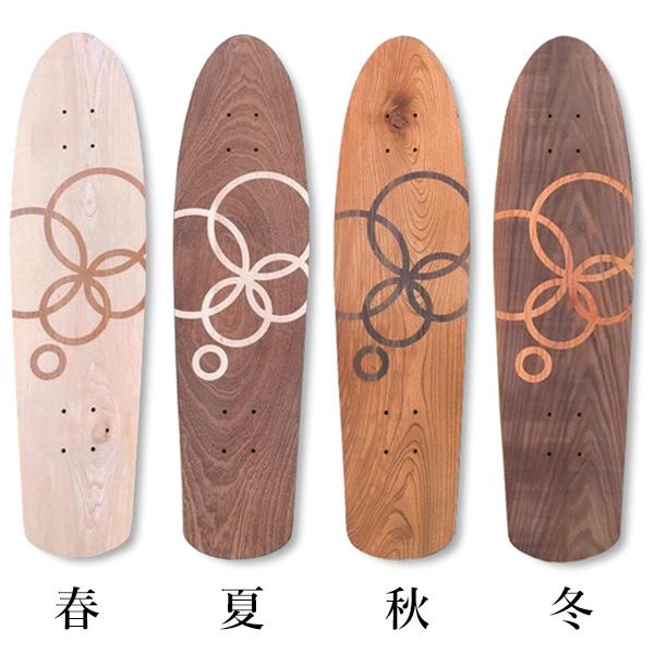 "【GRAIN-ON SKATEBOARDS×instant 】 25th CRUISER BOARD ""秋"" インスタント グレインオンスケートボード スケートボード スケボー デッキ SKATEBOARD"