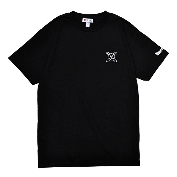 【SSP SLAPPY×instant】 25TH ANNIVERSARY TEE  カラー:black  エスエスピー スラッピー Tシャツ 半袖  スケートボード スケボー SKATEBOARD
