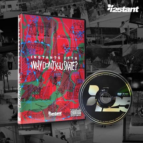 【instant】 INSTANTS 25TH    スケートボード スケボー SKATEBOARD  映像 DVD