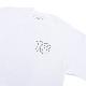 【 16(Sixteen)×instant 】 instant 16 Reflective Logo Tee カラー:white インスタント シックスティーン スケートボード スケボー Tシャツ SKATEBOARD
