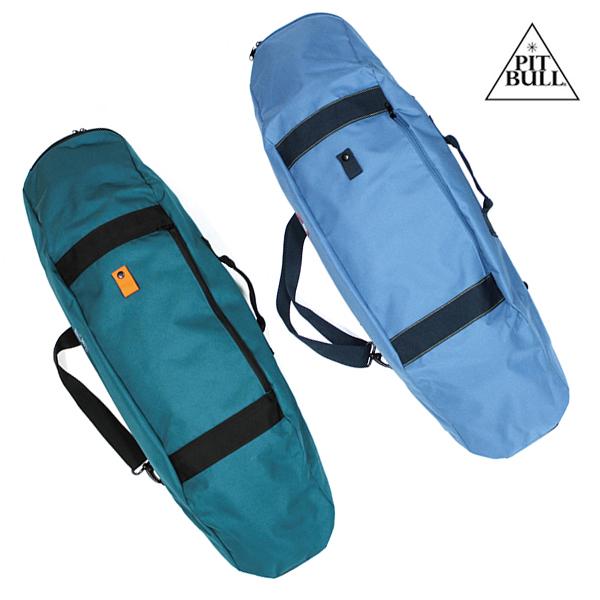 【PITBULL PROPAGANDA】 KATA BAG PLUS SKATE BAG  カラー:teal / steel blue  ピットブル スケートバッグ バッグ  スケートボード スケボー SKATEBOARD