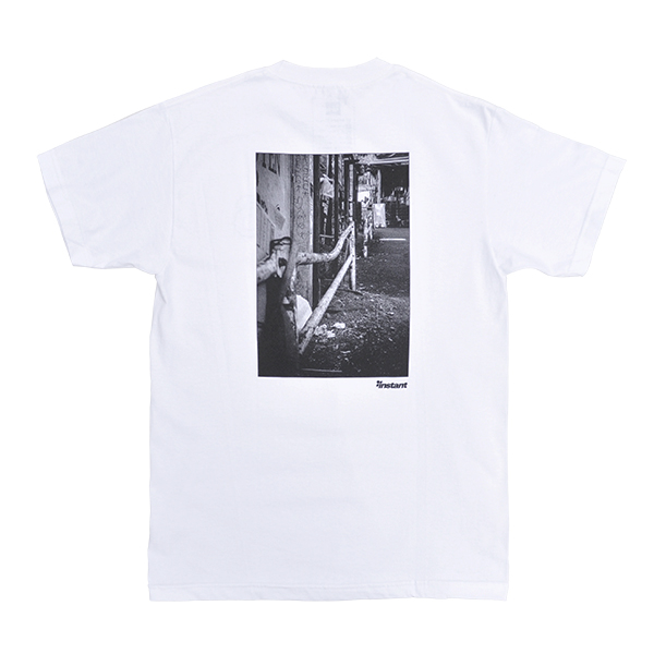 【 16(Sixteen)×instant 】 instant 16 Photo Tee with Zine カラー:white インスタント シックスティーン スケートボード スケボー Tシャツ SKATEBOARD