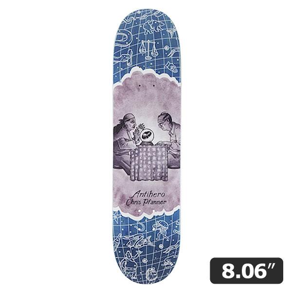 【ANTI HERO】Chris Pfanner IT'S A SIGN 8.06インチ アンチヒーロー スケートボード スケボー デッキ SKATEBOARD DECK