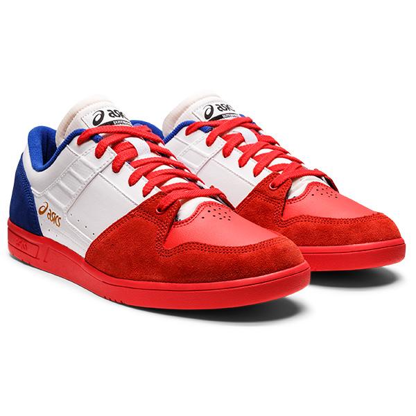 【asics skatebording】 GEL-WT PRO  カラー:white/electric red   アシックス スケートボーディング  スケートボード スケボー  シューズ 靴 スニーカー  SKATEBOARD SHOES