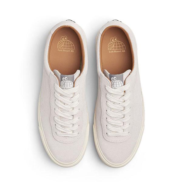 【Last Resort AB】VM001 SUEDE LO WHITE/WHITE ラストリゾート シューズ スケートボード スケボー SKATEBOARD